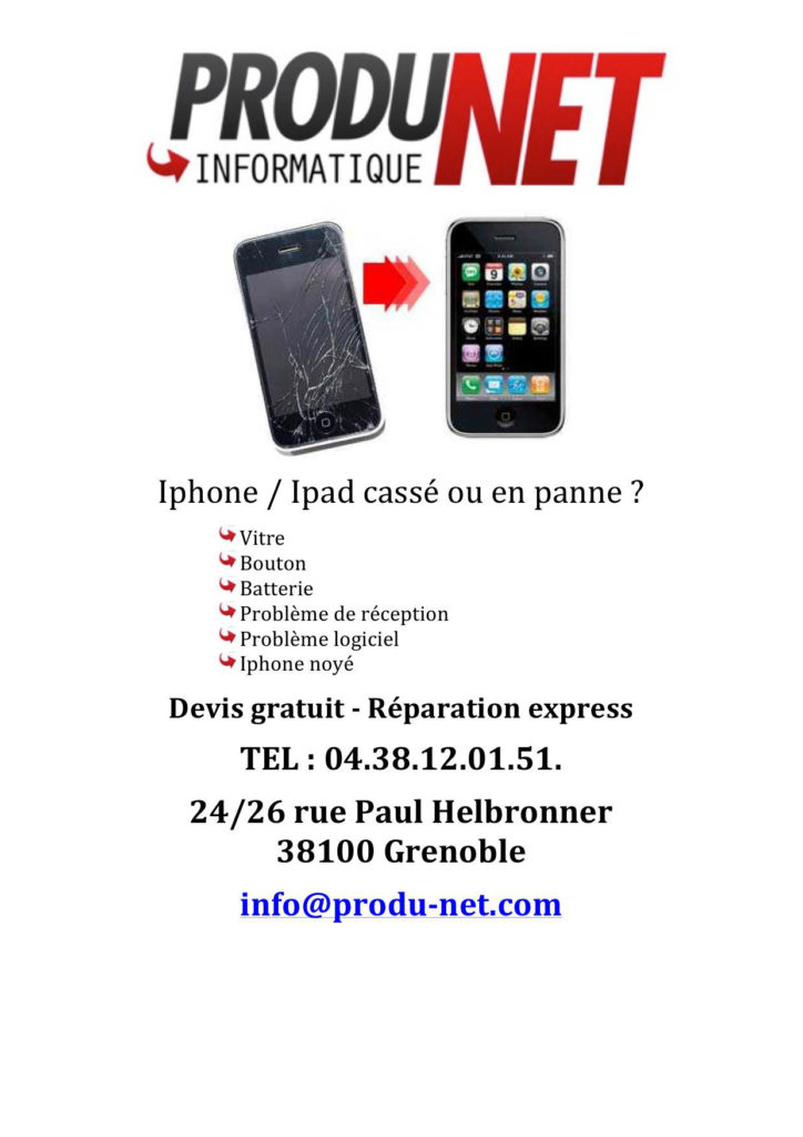 Reparation iPhone Grenoble
