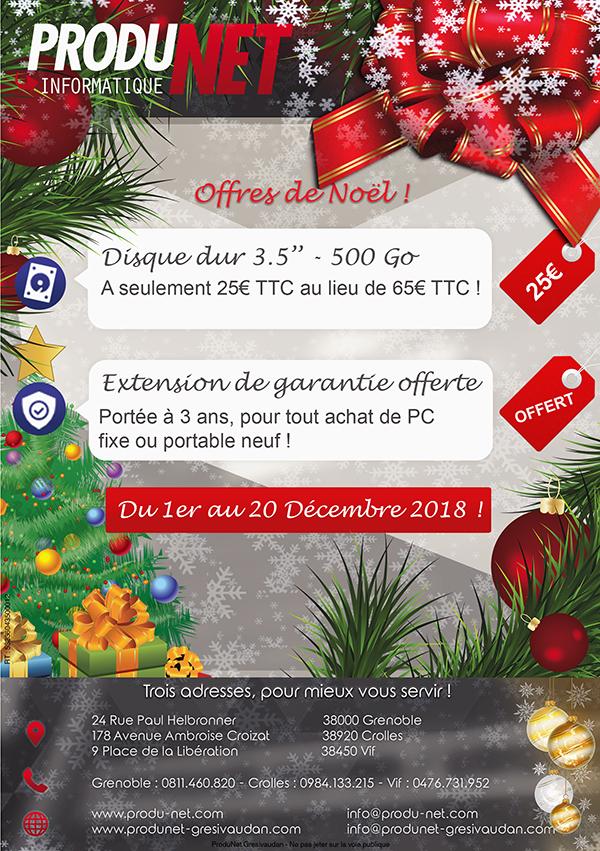 ProduNet - Offres de Noël 2018