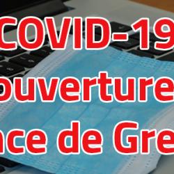 Coronavirus (COVID-19) - Réouverture à Grenoble