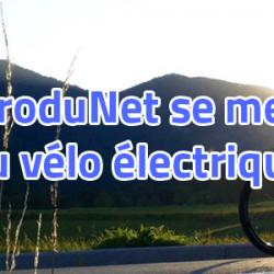 ProduNet s'engage avec des Vélos électriques